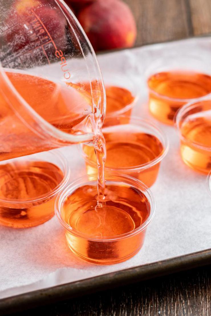 Alcohol Drinks Crown Royal Peach Jello Shots