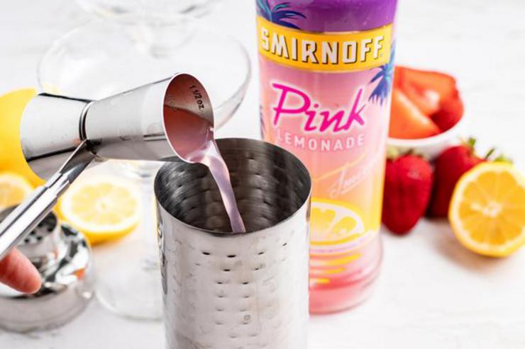 Alcohol Drinks Pink Lemonade Margarita
