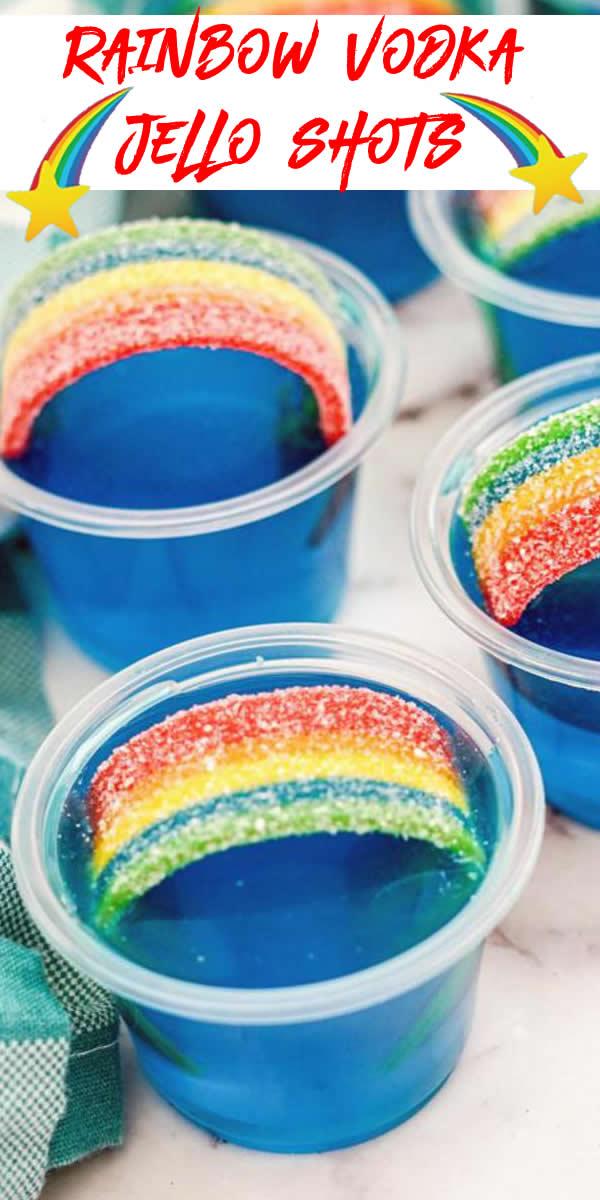 Vodka Rainbow Jello Shots! How To Make Jello Shots – EASY & BEST Vodka Jello Shot Recipe