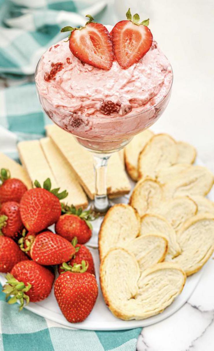 Alcohol Strawberry Daiquiri Dip
