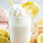 BEST Copycat Chick Fil A Frosted Lemonade Recipe – Kids Party Food – Easy – Cheap Ideas - Simple Drinks