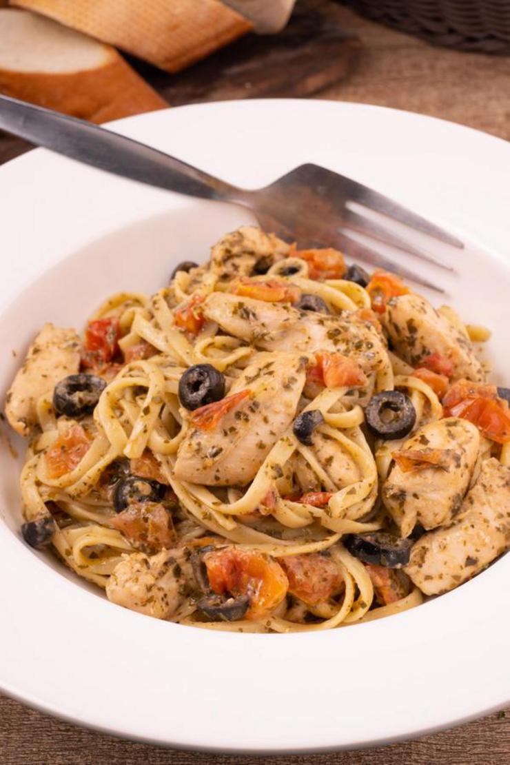 Gluten Pasta – BEST Gluten Free Chicken Pesto Pasta Recipe – Lunch – Dinner