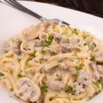 Gluten Free Creamy Italian Sausage Pasta