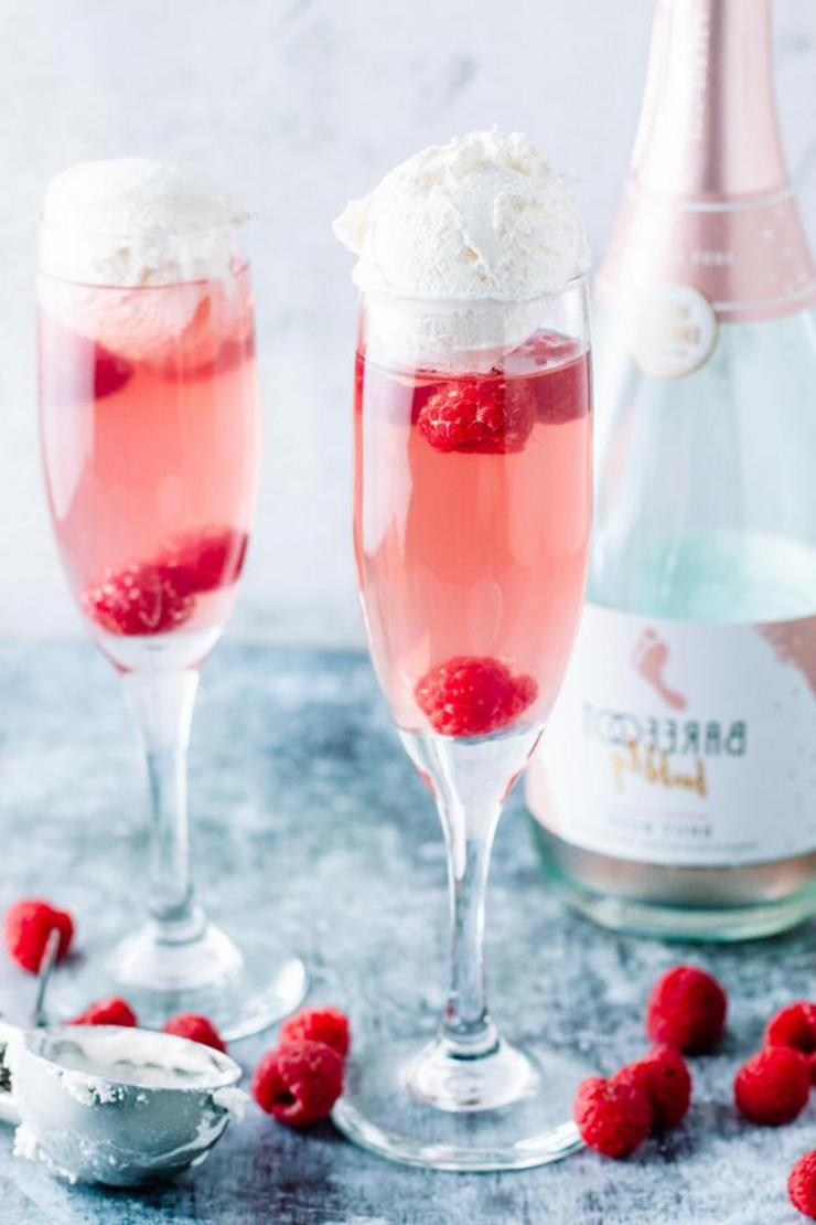 Keto Pink Champagne Float