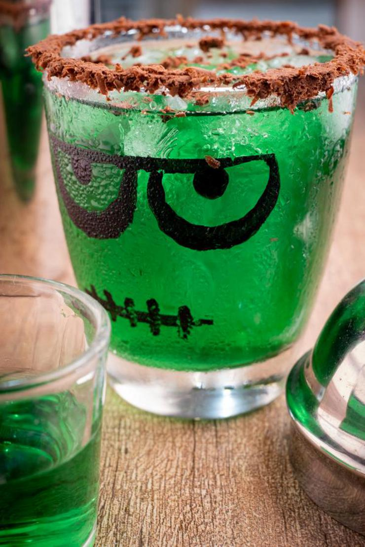 Alcohol Drinks Frankenstein Margarita