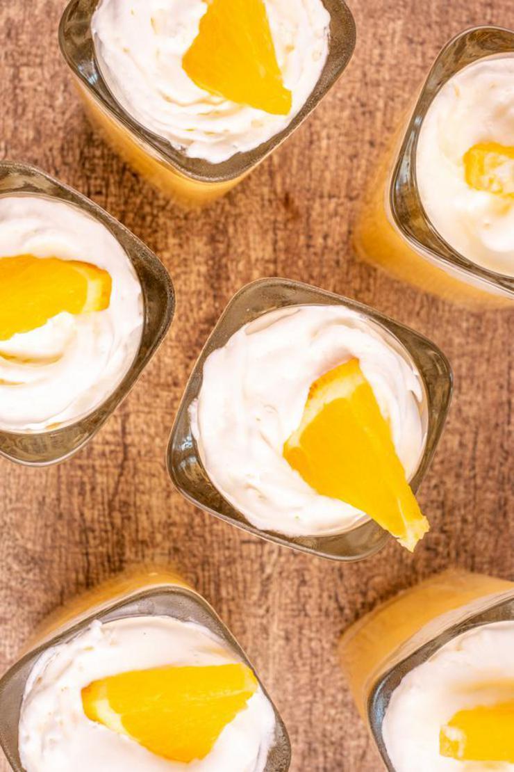 Alcohol Drinks Orange Creamsicle Jello Shots