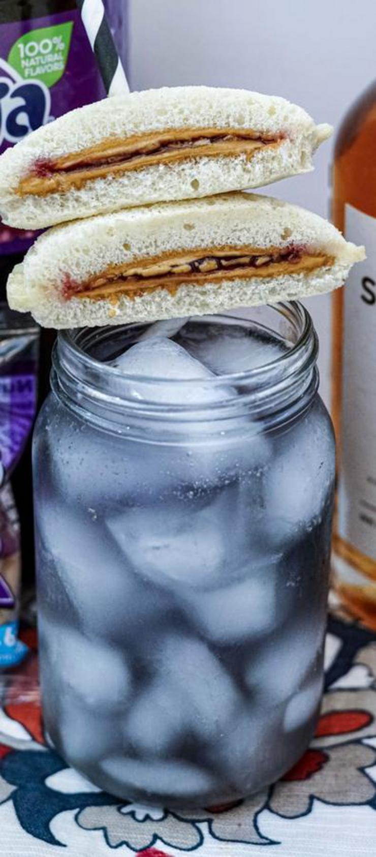 Alcohol Drinks Peanut Butter And Jelly Whiskey Cocktail
