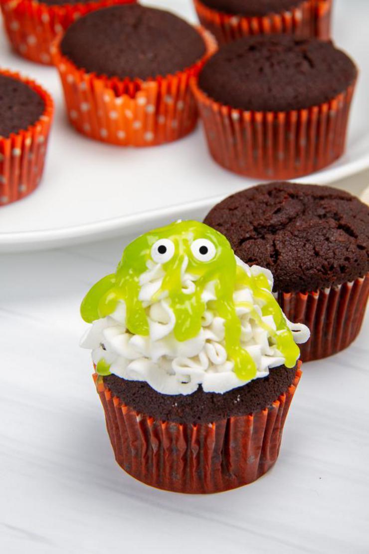 Slimy Monster Brownies