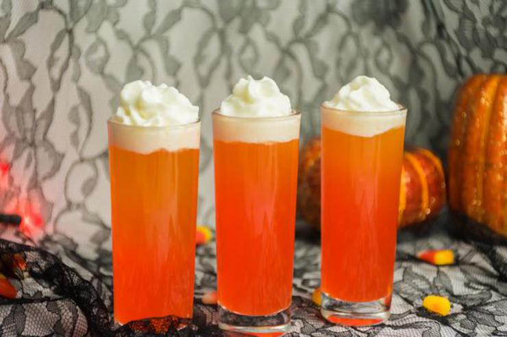 Alcohol Drinks Candy Corn Vodka Shots