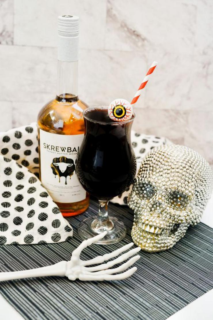 Alcohol Drinks Creepy Monster Eye Cocktail
