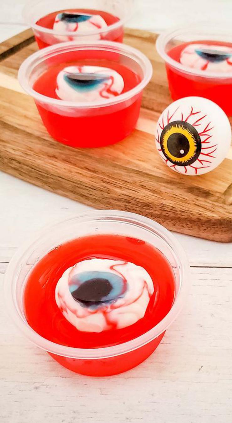Alcohol Drinks Eyeball Jello Shots