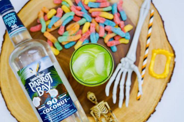 Alcohol Drinks Gummy Worm Rum Punch