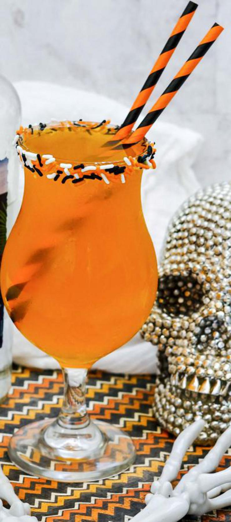 Alcoholic Drinks – BEST Halloween Rum Punch Cocktail Recipe – Easy and Simple Halloween Alcohol Drinks