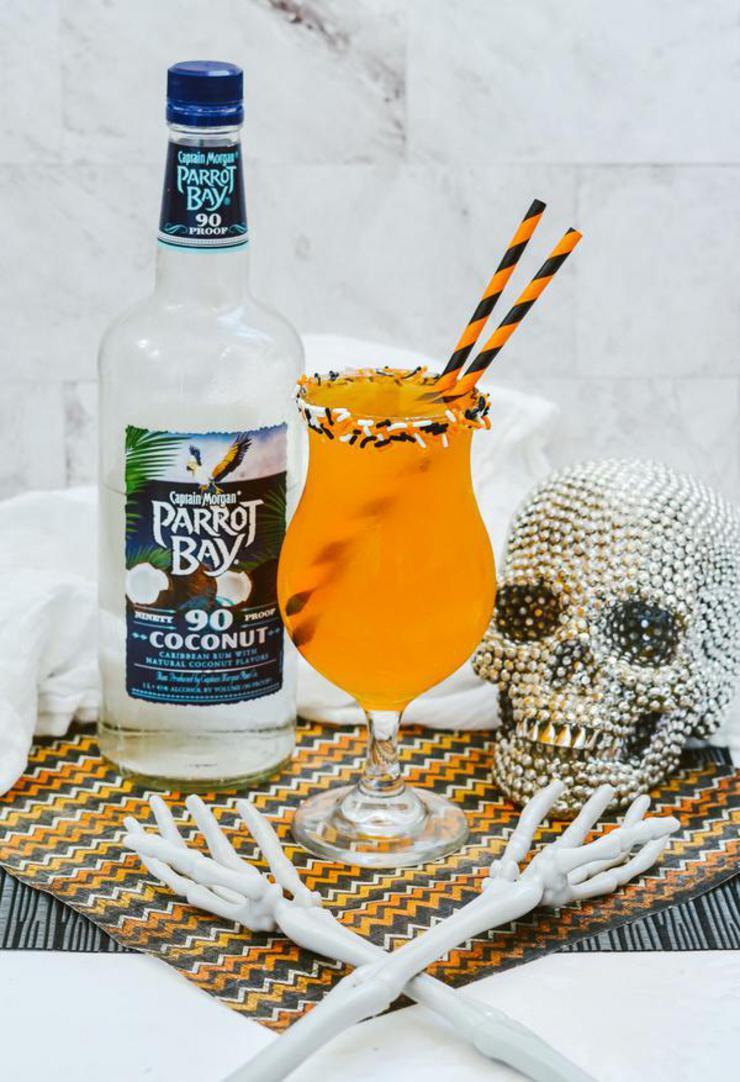 Alcohol Drinks Halloween Rum Punch