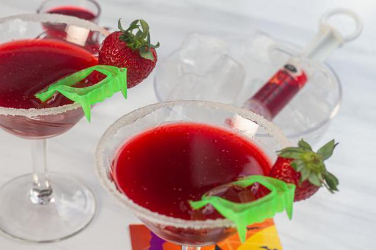 Alcohol Drinks Vampire Margarita
