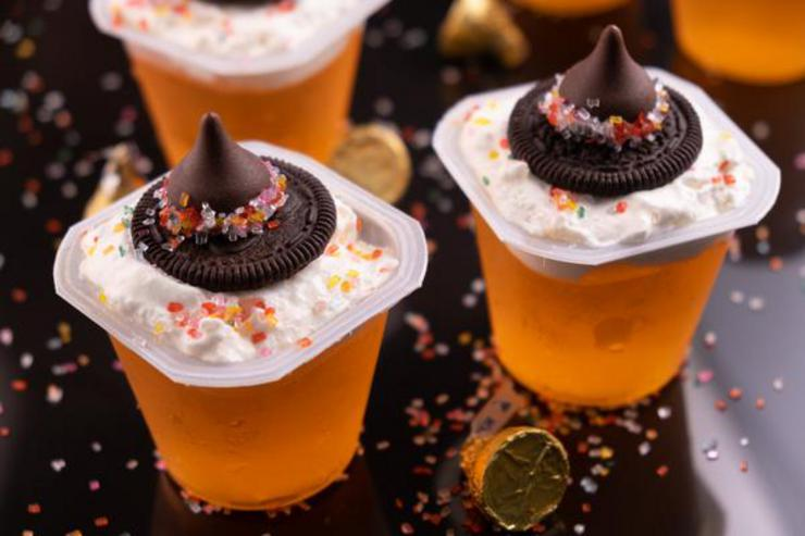 Alcohol Drinks Witch Hat Jello Shots